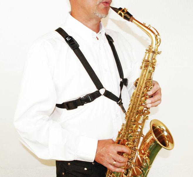 moschettone plastica Imbragatura uomo sassofono Alto tenore Baritono BG S40SH